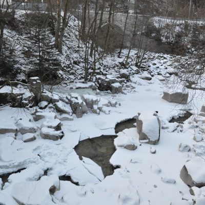 Murgbett im Winter