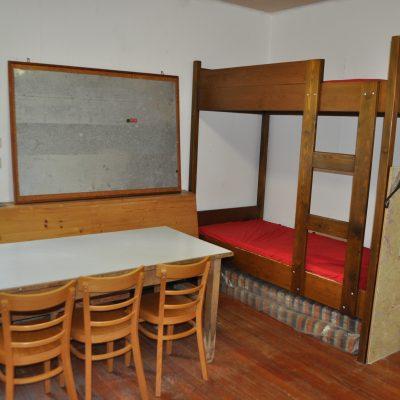 Leiterzimmer, Doppelstockbett