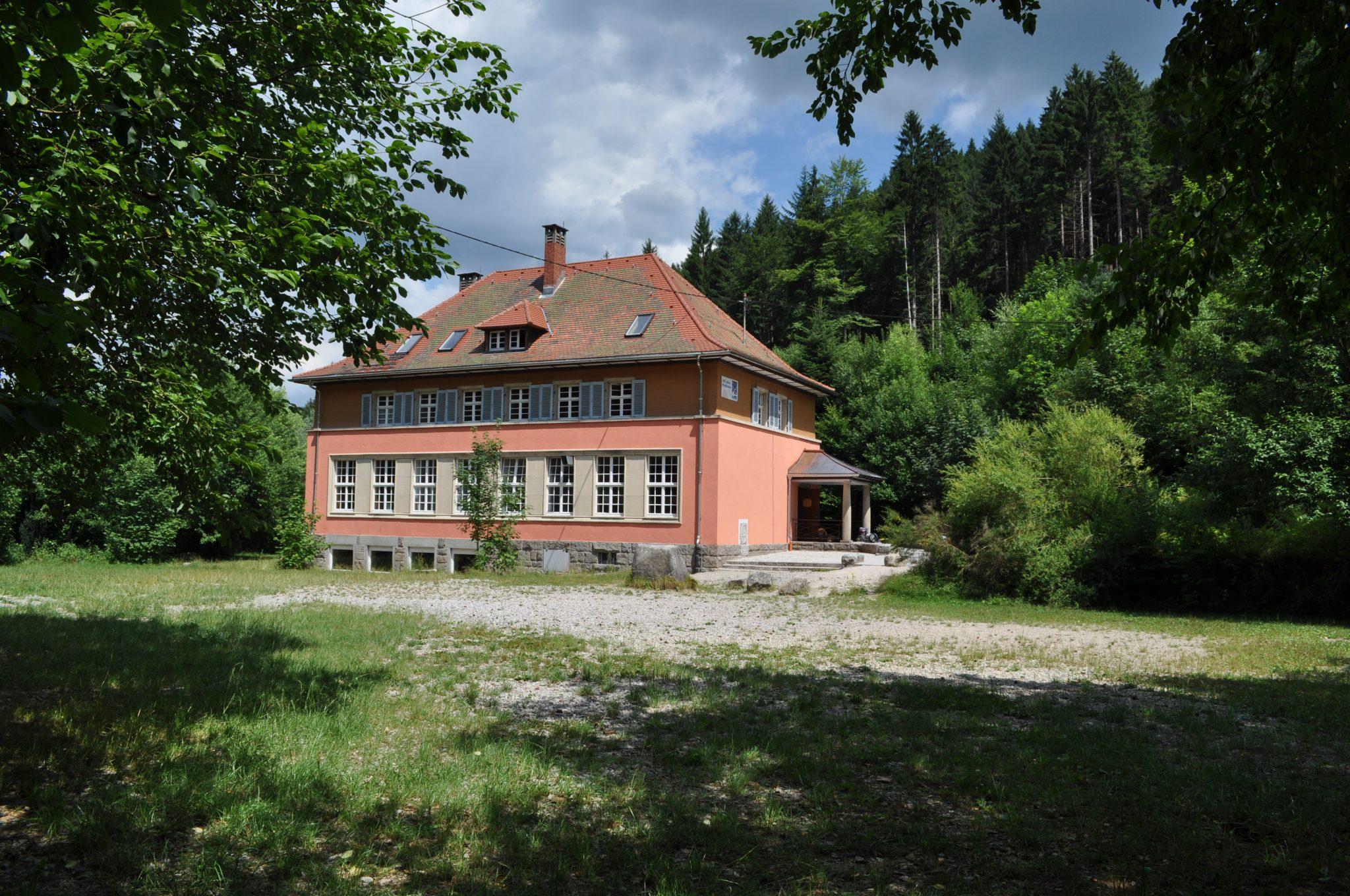 Spielwiese und Haus